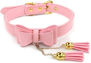 Bell Choker Collar Necklace Lolita Bow Collar Cat Kitty Velvet Necklace