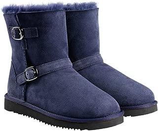kirkland signature shearling buckle boot