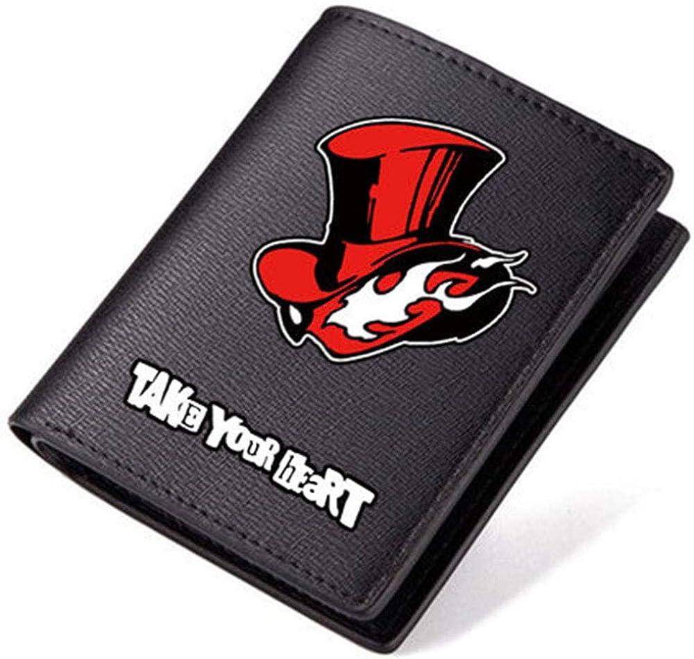 Selling Import rankings Persona 5 Pu Leather Short Wen For Women Wallet Billfold