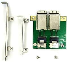 Sff8088-8087ミニSas26PPciボードサーバーアレイカードバックプレーンアダプタボードGreen&Sliver