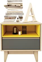 Bedside Table Bedside Table - 2-Layer Mini Simple Wooden Locker Nordic Small Apartment Multi-Functional Bedroom Bedside Lo...