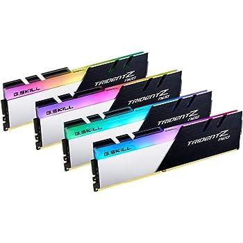 G.SKILL Trident Z Neo (for AMD Ryzen) Series 64GB (4x16GB) 288-Pin RGB DDR4 3600 (PC4 28800) DIMM F4-3600C16Q-64GTZNC