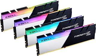 G.Skill 32GB (4x 8GB) Trident Z Neo DDR4 3600MHz PC4-28800 موديل F4-3600C14Q-32GTZNB
