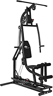 GOPLUS Multifunctional Trainer Home Gym Station Workout Machine for Total Body Training Max Load 330LBS