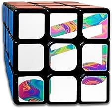 Cyclone Boys 3x3 Fashion Speed Cube Sticker Rainbow Music Note Magic Cube Puzzles Toys