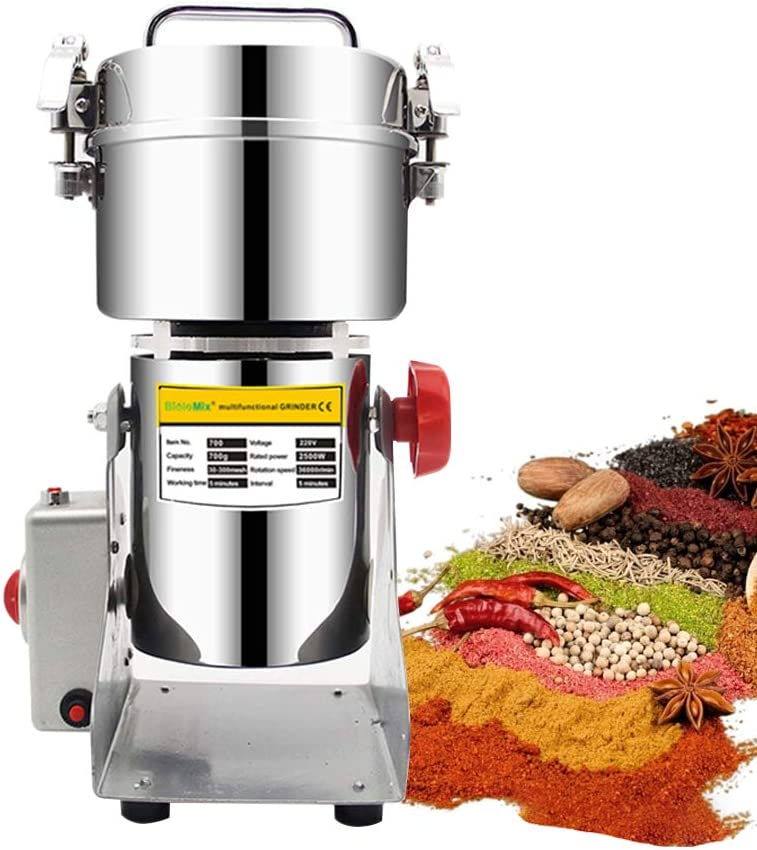 ZXMOTO 700g Mail A surprise price is realized order Electric Grain Mill Herb 110V Cereal Gr Grinder