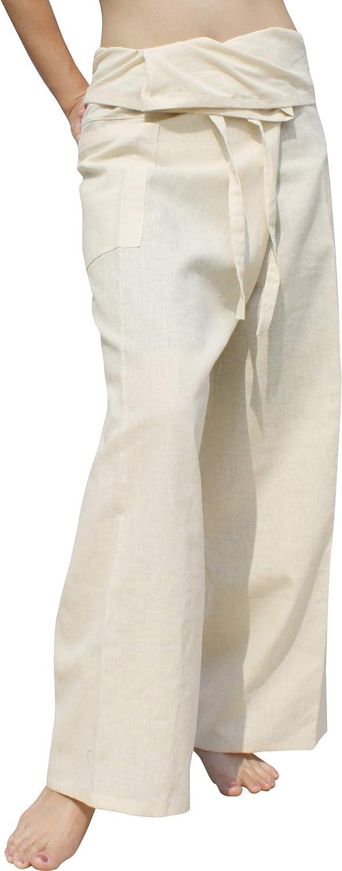 RaanPahMuang High Grade Chinese 55% 45% 格安店 Hemp 格安 Thai Fisherm Cotton