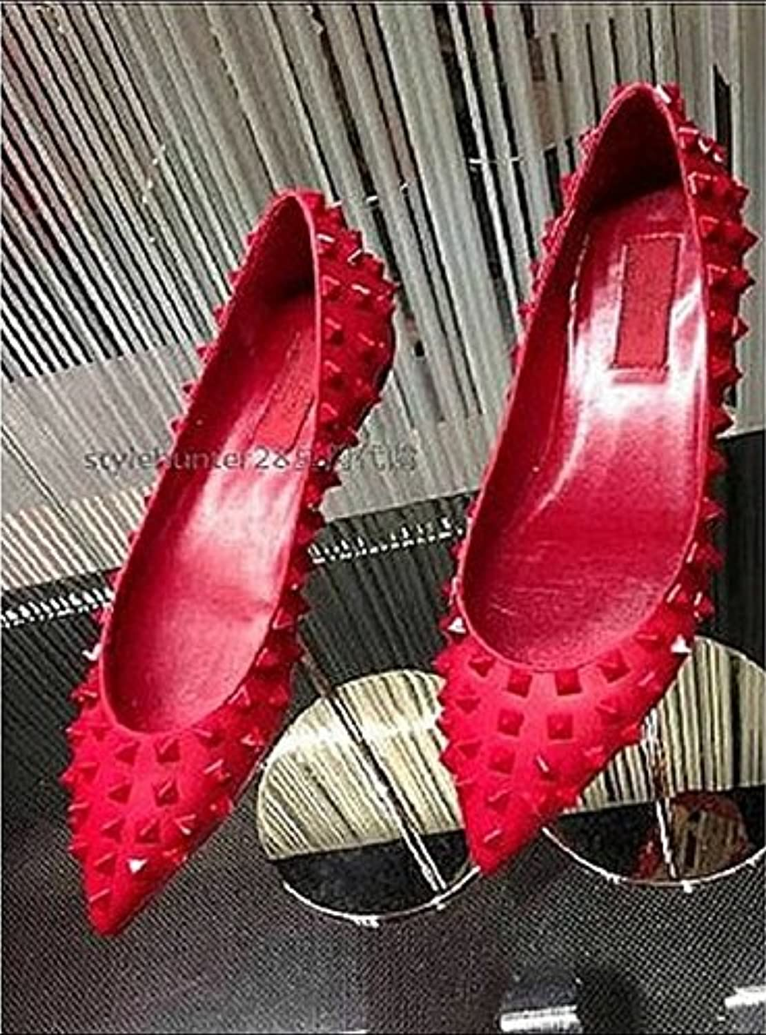 Ladies Sandals,Rivets,Pointed shoes,Flat shoes,Comfortable Flat shoes,Wedding shoes.