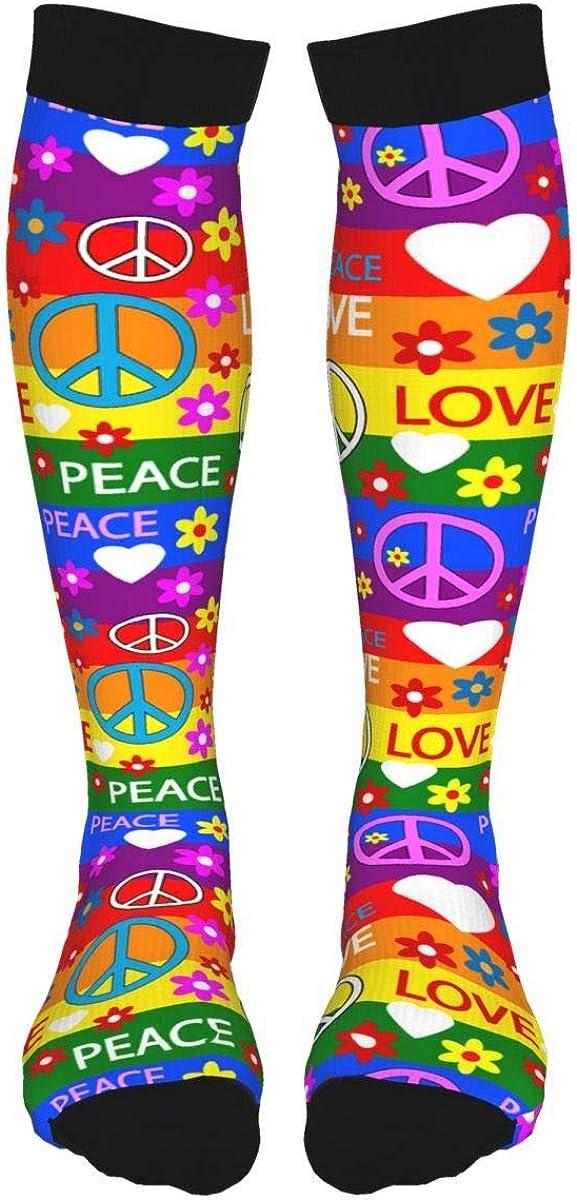 Flame Fire Skull High Thigh Socks Long Stocking Knee High Leg Warmer For Girls/Women