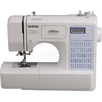 Brother CS5055PRW Sewing Machine, Project Runway, 50 Built-in Stitches, LCD Display, 7 Included Feet