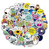 103PCS Stickers for Water Bottles, Big Cute Funny Waterproof Vinyl Stickers Decals for Teens,Girls and Adults, Unique Durable Aesthetic Trendy Stickers Perfect for Hydro Flask, Laptop, Computer,Phone
