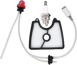MOTOKU 581798001 Fuel Line Filter Grommet Primer Bulb kit Spark Plug for Husqvarna 125B 125BX 125BVX Handheld Leaf Blower