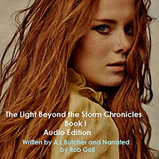 The Light Beyond the Storm Chronicles, Book 1 audiobook cover art