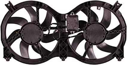 OE Replacement Dual Radiator and Condenser Fan Assembly NISSAN PATHFINDER 2014-2017 (Partslink NI3115149)