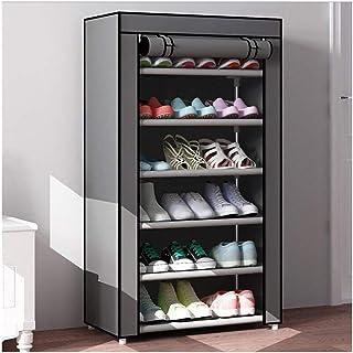 XWZH Cabinet de Chaussures Anti-poussière Article à Chaussures Chaussures de Rangement Organisateur pour 18 Paires de Chau...