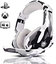 Gaming Headset for PS4, Xbox One, PC, Laptop, Mac,...