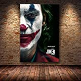 yaofale Sin Marco Joaquin Phoenix Poster Prints Joker Poster Movie Art Canvas Oil Painting Wall Pictures For Living Room Home Decor 60x75cm