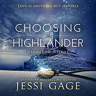Choosing the Highlander audiobook cover art