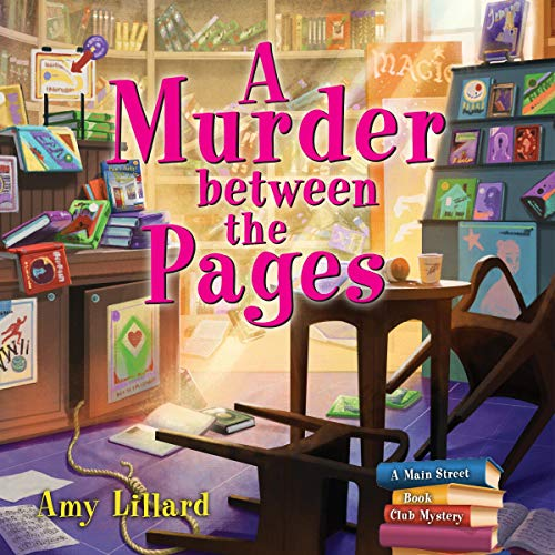 A Murder Between the Pages cover art