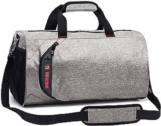 [Surmonter] スポーツバッグ シューズ収納 メンズ レディース ジムバッグ ボストンバッグ 防水 Wet Pouch付
