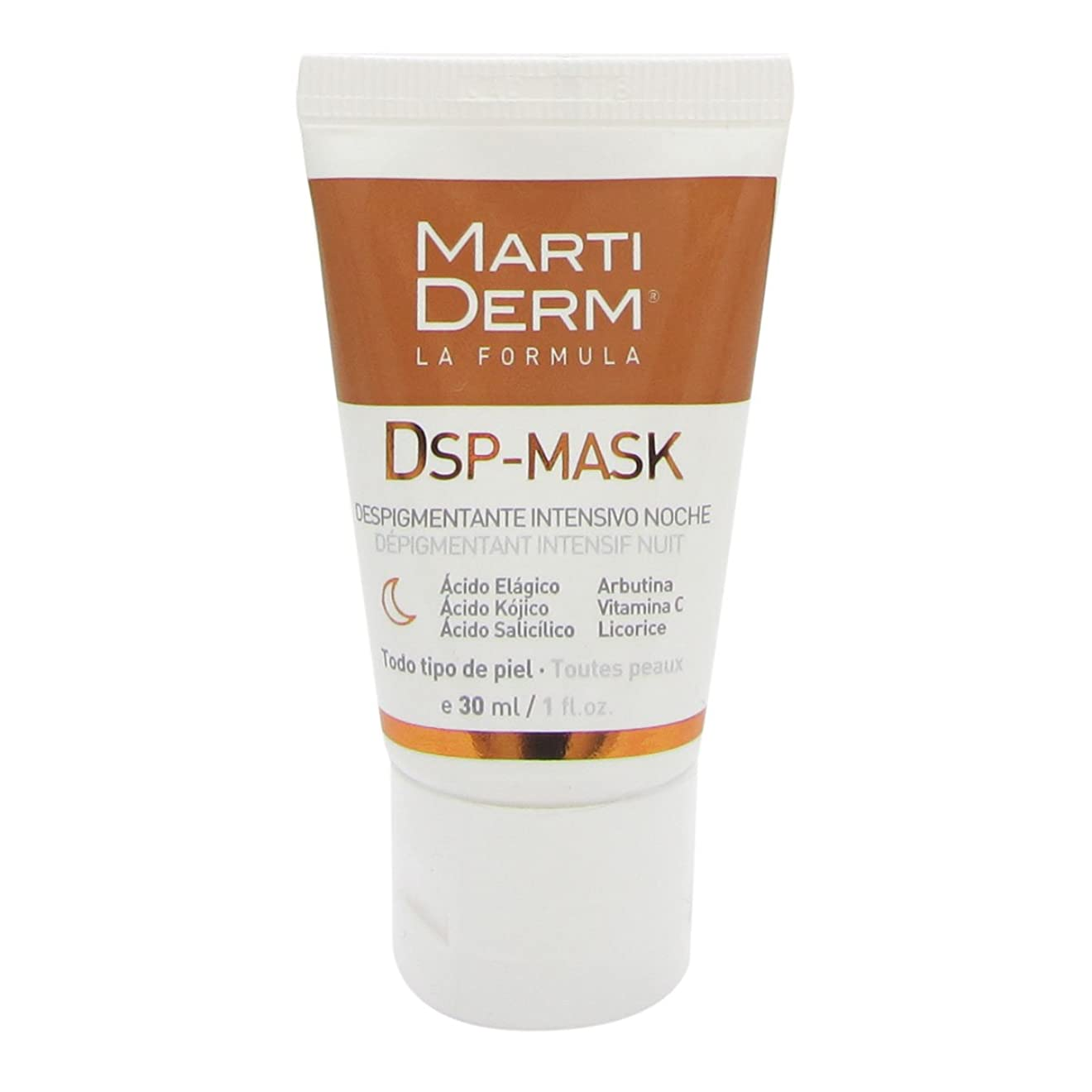 直接インレイ一時停止Martiderm Dsp-mask Intensive Depigmenting Night 30ml [並行輸入品]