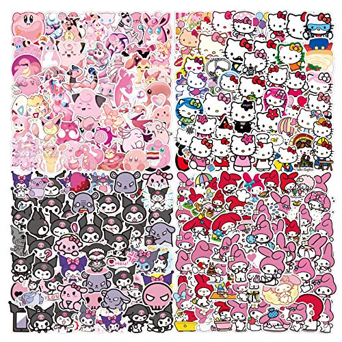 Kawaii Stickers Mixed Pack[200pack]Vinyl Waterproof Stickers for Laptop for...