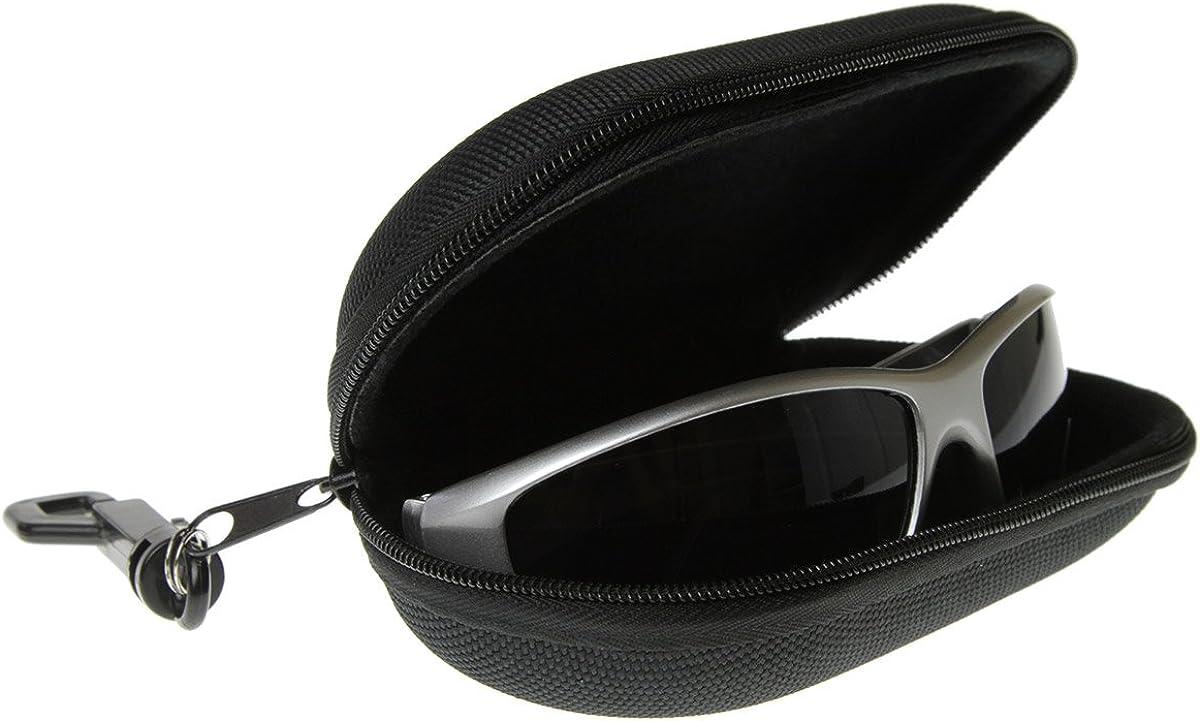 zeroUV - Zipper Nylon Capsule Eyeglasses Sunglasses Eyewear Case With Key Chain