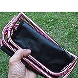 Mini-Klapphocker, ultraleichter Mini-Klapphocker von Zantec, tragbarer Sitzhocker mit Aufbewahrungstasche für Outdoor, Camping, Wandern, Angeln