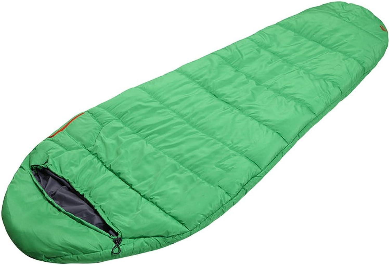 FU MAN LI Spring and summer outdoor adult general light warm cotton sleeping bags