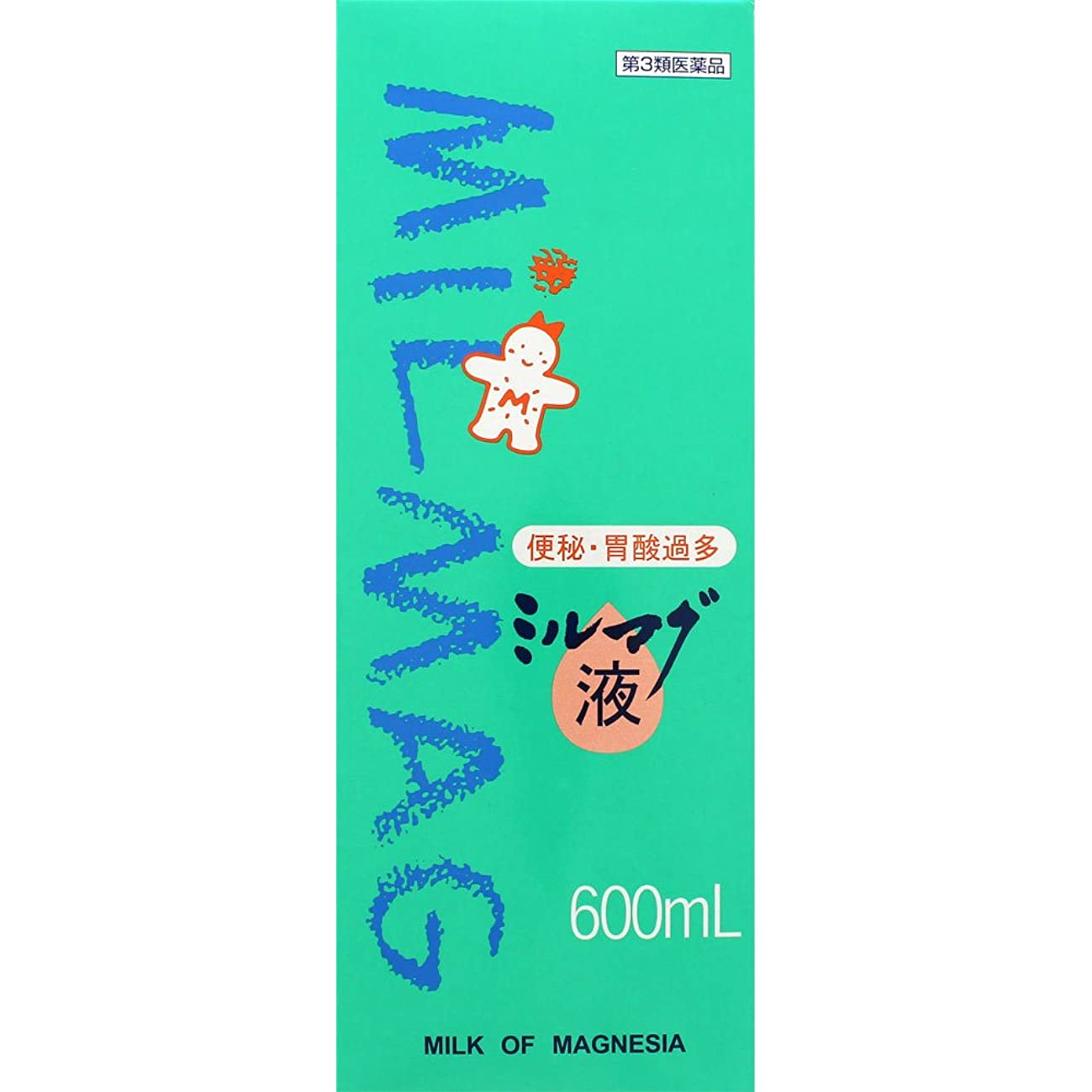 物語コーヒー洗剤【第3類医薬品】ミルマグ液 600mL