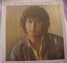 Mac Davis: I Believe In Music LP VG++/NM Canada