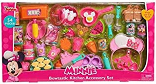 Amazon Com Toy Kitchen Products Minnie Mouse Kitchen Toys Pretend Play Toys Games