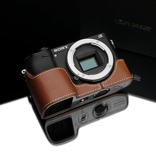 Gadget Place Black Classy Leather Wrist Strap for Sony a7R Mark III a9 Alpha A7R Mark III A9