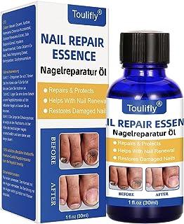 Nail Repair, Natural Nail Treatment, Maximum Strength Nail Solution, Restores Discolored & Damaged Nails