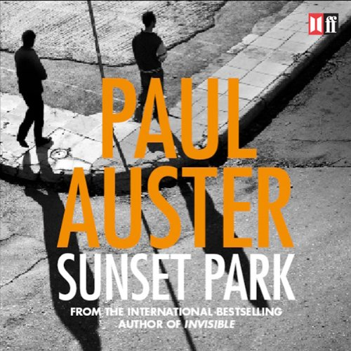Sunset Park audiobook cover art