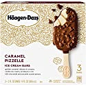 Haagen-Dazs, Caramel Pizzelle Ice Cream Bars, 3 Count , 9 oz (Frozen) (Packaging May Vary)