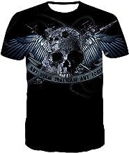 Sunofbeach Unisex 3D T-shirt grappig bedrukt geper...