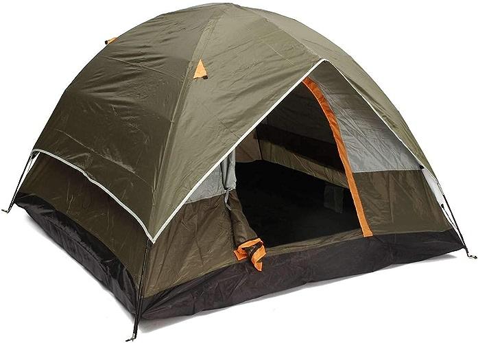 Liu xinling Tente extérieure, Tente de Camping 3-4 Personnes, Coupe-Vent Double Couche étanche Anti-UV tentes de Tourisme, randonnée en Plein air, Plage, Loisirs, Voyage, fête