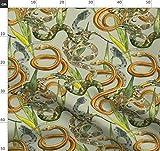 Schlange, Schlangen, Naturgeschichte, Tiere Stoffe -
