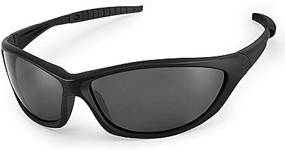 LATEC gepolariseerde zonnebrillen, sportzonnebrillen voor heren en dames met UV400-bescherming & TR90 onbreekbaar montuur,...