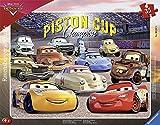 Ravensburger – Pixar Cars 3 Puzzle Bilderrahmen Die Freunde von Flash Cars3, 35-teilig, 06157