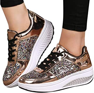 Shoes for Women Strap Ballroom Fabric Dance Shoes Fashion Ballet Shoe with Heel by Sopzxclim