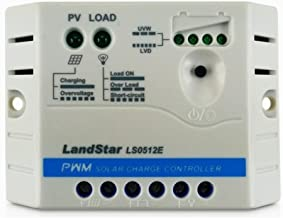 EPsolar LS0512E PWM 5A 12V Auto Work LED Display for Off Grid Battery Solar Panel Regulator Charge Controller