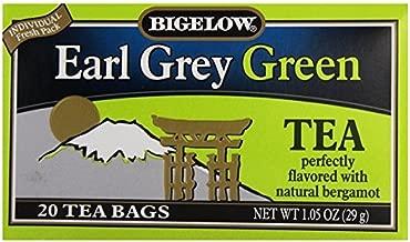 Bigelow Tea Earl Grey Green Tea 20 Tea Bags (Pack of 3)