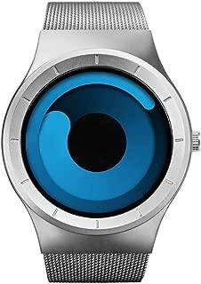 Redlemon Reloj Sinobi Swirl Estilo Innovador y Vanguardista Movimiento de Cuarzo Acero Inoxidable Resistente a Salpicaduras Modelo Vórtex