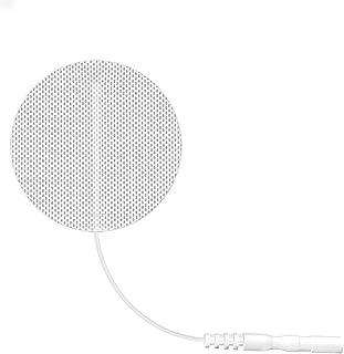 Electrodo Tonificación Muscular Adelgazar - Electrodos Cervicales Facial Gluteos Hombro Manos Rodilla, Self Adhesive Electrodes Masaje Gel Conductor Adhesivos Gelificados60pcs (2.0mm)