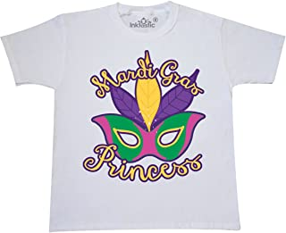 inktastic Mardi Gras Princess Youth T-Shirt