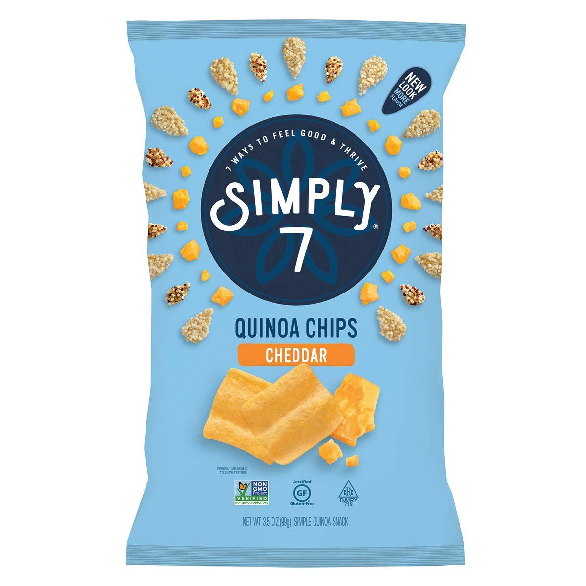 Simply 7 Quinoa Chips Vegan Non-GMO N Sale Special Price Gluten Snacks Kosher New color