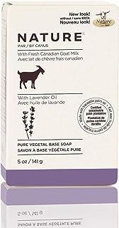 Sponsored Ad - Nature By Canus Bar Soap, Lavender Oil, 5 Oz, With Fresh Canadian Goat Milk, Vitamin A, B3, Potassium, Zinc...
