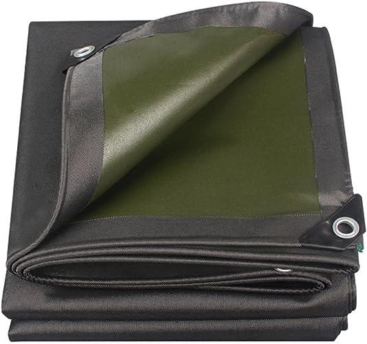 LIYIN-Bache imperméable à l'eau de bache de Toit de bache imperméable de Feuille de bache de Couverture de Pluie de Jardin, Options de Multi-Taille, épaisseur 0.7mm